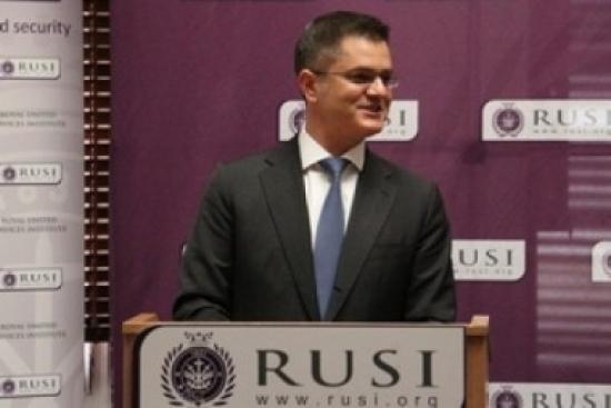 Jeremić Lectures at RUSI and Cambridge
