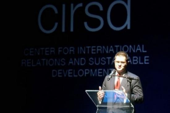 Prijem povodom osnivanja CIRSD