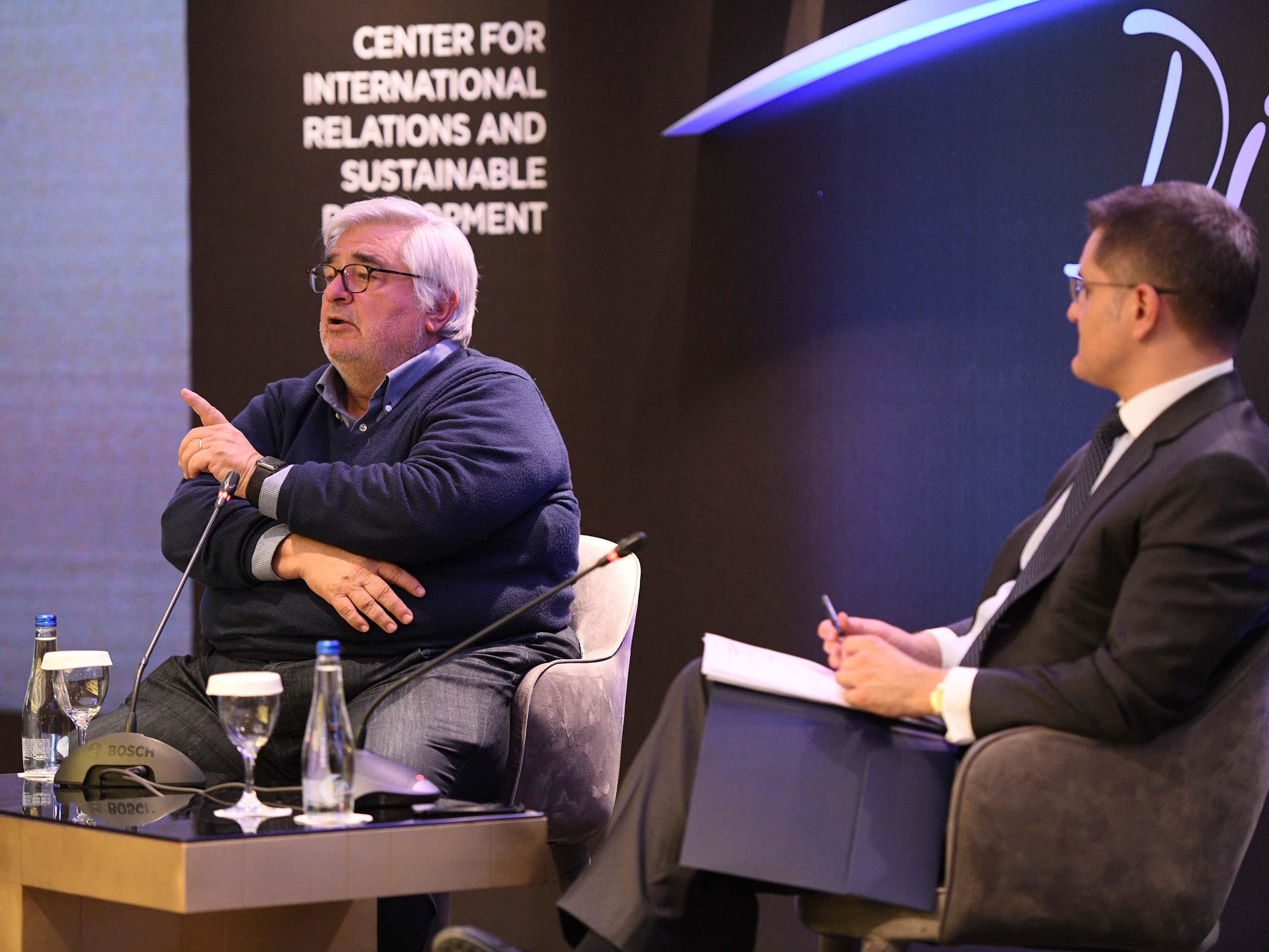 Džon Rendon i Vuk Jeremić o demokratiji u doba botova i nestabilnosti | Horizons Discussion